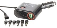 12VDC 3A Car Power Adaptor with USB Outlet