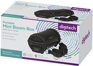 Portable Mini Boom Box with Bluetooth® Technology