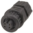 IP67 4 Pin Line Socket