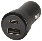 3A USB A & Type-C Car Cigarette Lighter Adaptor