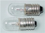 6.3V Miniature Edison Screw Globe