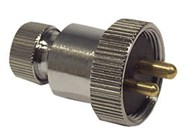 2 Pin Waterproof connector 12 Volt 3 Amp to Suit TEP076