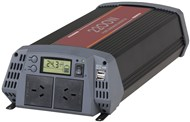 2200 Watt 24VDC to 230VAC Pure Sine Wave Inverter with 30A Solar Regulator