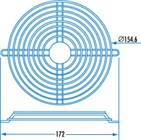 150mm Fan Finger Guard