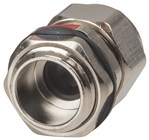 IP68 Nickel Plated Copper Cable Glands 4 to 8mm Pack of 2