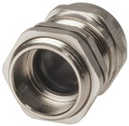 IP68 Nickle Plated Copper Cable Glands 10 to 14mm Pack of 2