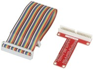 Raspberry Pi GPIO Breakout Lead and Header for breadboard
