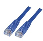 5m Cat 5E Patch Lead - Blue