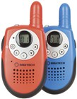 0.5W 80 Channel UHF CB Red/Blue Twin Pack