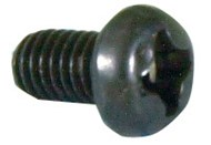M3 x 5mm Black Equipment Screws - Pk.200