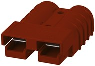 Anderson 50A Power Connector 8 Gauge Contacts - Red