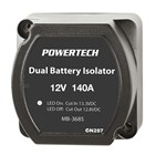 140A Dual Battery Isolator (VSR)