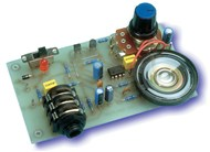 Short Circuits Three Project -  Guitar Practice Amplifier