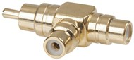 RCA Gold Double Adaptor