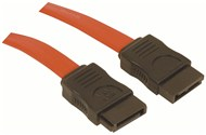 1m 7pin female to 7 pin female SATA Cable