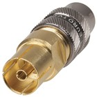 75 Ohm Gold Plated PAL Socket