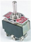 DPDT 6A 240VAC Heavy Duty Centre Off Standard Toggle Switch