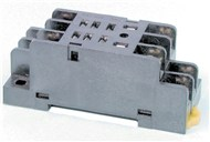 DPDT DIN Rail Mount Relay Cradle
