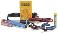 25W Soldering Iron Starter Kit with DMM