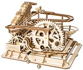 Waterwheel Coaster Wood Construction Kit