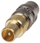 Gold 75 OHM TV Plug