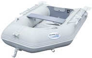 2.3M Inflatable PVC Boat with Air Deck - Grey