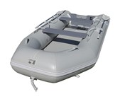 3.3M Inflatable PVC Boat with Air Deck - Grey