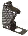 Missile Launch Style Toggle Switch Cover - Carbon Fibre appearance