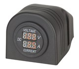 Panel/Surface Mount LED Voltmeter and Ammeter