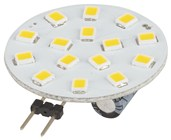 G4 LED Replacement Light, 120º, 12VAC/DC, Cool White