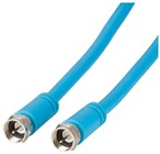 Flexible F Plug to F Plug Coax RG59 Cable - 10m