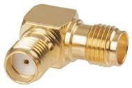 Right Angle SMA Socket to SMA Socket Adaptor