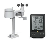 Digital Weather Station with Monochrome Display