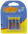 AAA Alkaline Eclipse Battery - Pk 4