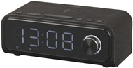 Alarm LED Clock Radio with QI Wireless Charging
