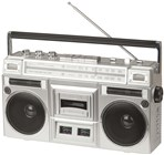Ghetto Blaster with Bluetooth®, Cassette Player and Radio