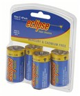 Eclipse Alkaline C Batteries Pk4