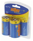 Eclipse Alkaline D Batteries Pk 4