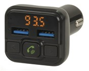 FM Transmitter with Bluetooth® Technology and USB