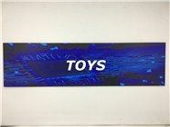 Resellers category sign blue TOYS