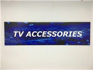Resellers category sign blue TV ACC.