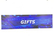 Resellers category sign blue GIFTS