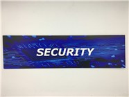 Resellers category sign blue SECURITY