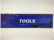 Resellers category sign blue TOOLS