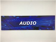 Resellers category sign blue AUDIO