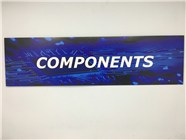 Resellers category sign blue COMPONENTS