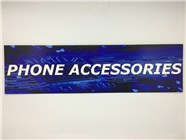 Resellers category sign blue PHONE