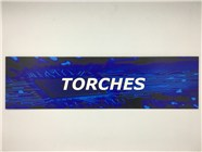 Resellers category sign blue TORCHES