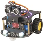 Duinotech Mini Smart Car Robot Kit with Micro:bit - STEM