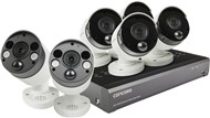 Concord 8 Channel 4K NVR Package - 4x4K PIR IP Cameras and 2x4K PIR IP Floodlight Cameras with 2 way audio